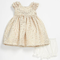 Laura Ashley Brocade Dress & Bloomers (Infant) | Nordstrom