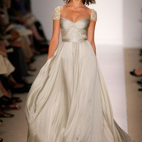 This Is Romantic! / reasons to smile - Reem Acra wedding dress. Yes, I know I have a...