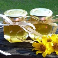 Wedding Favors, 200 Raw Wildflower Honey 2oz Jars, Raw Honey, Tennessee Wildflower, Reception, Anniversary, Wedding Favors