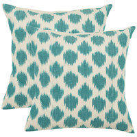 I love the Jillian Pillow in Aqua (Set of 2) in the Perfectly Paired event at Joss and Main!