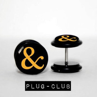Ampersand Fake Plugs by Plug-Club