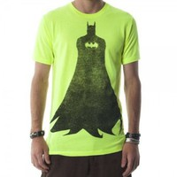Amazon.com: Batman Silhouette Mens Neon Yellow Tee: Clothing