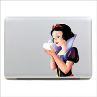 Apple sticker  macbook sticker Color Snow White Mac Book Mac Book Air Mac Book Pro Mac Sticker Mac Decal Apple Decal Mac Decals