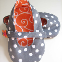 Handmade Fabric Baby Shoes