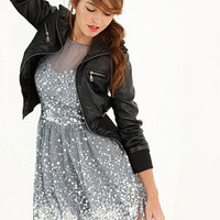 dELiAs > Allover Silver Sequin Dress > clothes > new arrivals > dresses