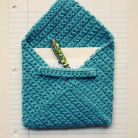 DIY - Crocheted Envelopes - ** Happiness Is...**