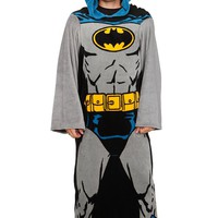 DC Comics Batman Cozy Throw With Sleeves - 195646