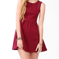 Studded Skater Dress