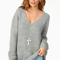 Sydney Knit - Gray