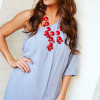 Oh Happy Days Dress: Light Gray | Hope&#x27;s