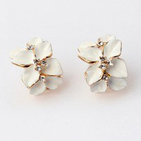 Orchid Fashion Earrings | LilyFair Jewelry