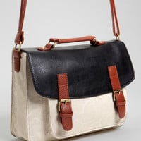 Three Tone Satchel | Natural Wonders Purse | fredflare.com