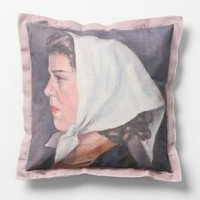 Portrait Pillow, Grace - Anthropologie.com