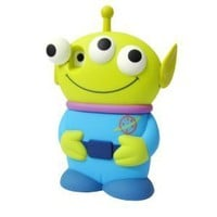 Amazon.com: Disney 3D 3 Eyes Toy Story Alien Movable Eye Hard Case Protector Shield Cover Iphone 4/4S Gift -Blue: Cell Phones &amp; Accessories