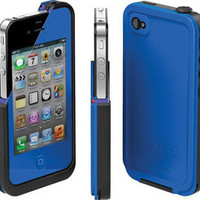 iPhone 4/4s Lifeproof case NIB Dirt Proof, Shock Proof, Water Proof. Blue!