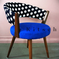 Lovely Polka Dot Chair (Dining/Study)--1950s Danish Replica (CH001)