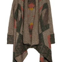 Line The Explorer patterned ribbed-knit cardigan – 50% at THE OUTNET.COM