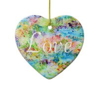 Revival - Love Christmas Tree Ornaments from Zazzle.com