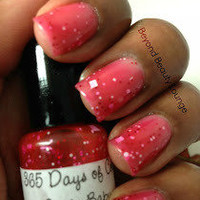 Santa Baby, Mini SCENTED NAIL POLISH  by 365 days of color polishes