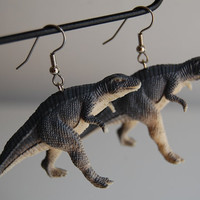 John Waters Dinosuar Earrings - dinosaur jewelry - trex - triceratops - pteridactyl - stegasaurus