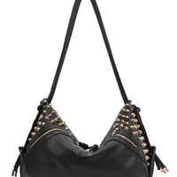 UNICORNOLOGY — STUDDED LEATHER BAG
