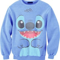 Stitch Crewneck | fresh-tops.com