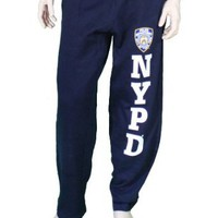 Amazon.com: NYPD Mens Sweatpants Training Pants Licensed Police Navy Blue: Clothing