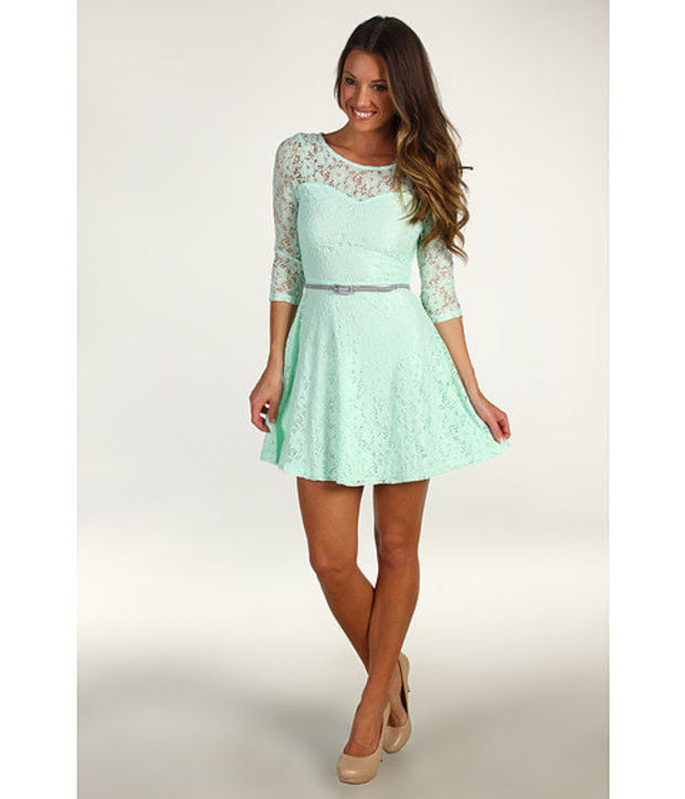 Gabriella Rocha George Lace Dress