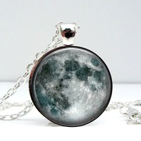 Moon Dome Pendant Necklace - Whimsical &amp; Unique Gift Ideas for the Coolest Gift Givers