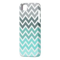 Chevron tiffany fade pattern iPhone 5 cover from Zazzle.com