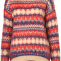 Knitted Jacquard Jumper - Knitwear  - Apparel