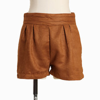 belmont faux suede shorts - $36.99 : ShopRuche.com, Vintage Inspired Clothing, Affordable Clothes, Eco friendly Fashion