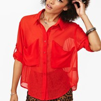 Heat Wave Blouse