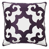 Z Gallerie - Bukhara Pillow - Aubergine