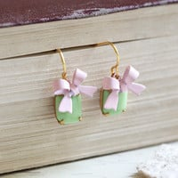 soria faire indie bow earrings - $27.99 : ShopRuche.com, Vintage Inspired Clothing, Affordable Clothes, Eco friendly Fashion