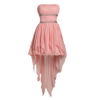 A-line Sweetheart Mini Chiffon Bridesmaid Dress,Sweetheart Bridesmaid Dress