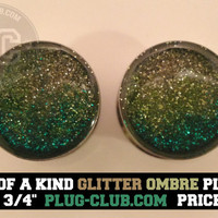 Mermaid Ombre Plugs by Plug-Club