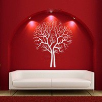 Leafless Tree Vinyl Wall Decal Sticker Graphic by laras4labs