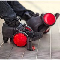 The Electric Skates - Hammacher Schlemmer
