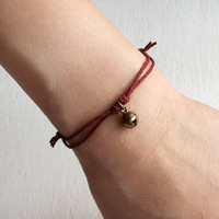 Little Jingle Bell Bracelet / Jingle Bell Anklet (24 colors to choose)