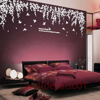 Vinyl wall decals  wall stickers tree decals  - Dream's garden