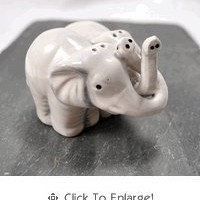Hugging Elephant Salt &amp; Pepper Shakers - The Afternoon