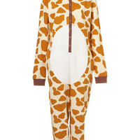 Giraffe Novelty All In One - Nightwear - Lingerie & Nightwear  - Clothing