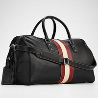 leather weekender bag from RedEnvelope.com