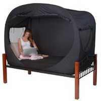 Amazon.com: Privacy Pop Bed Tent (TWIN): Home &amp; Kitchen