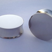 Mirror Plugs (8 gauge - 1 inch)
