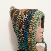 Pixie Hood Hat - Toadstool - Made to order