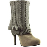 DARE ME SWEATER BOOT