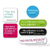 Ouch! Quotes and Quips Band Aids - Unique Band Aids