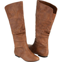 Qupid Neo Womens Boots Cognac  In Sizes